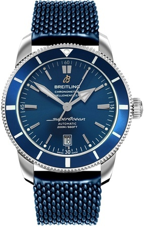 Breitling Superocean Heritage II B20 Automatic 42 Blue Dial Blue Rubber AB2020161C1S1 Men's Watch AB2010161/C1-276S
