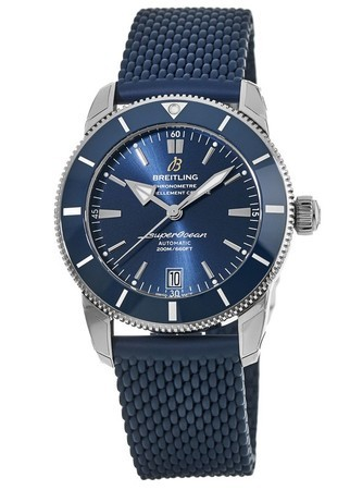 Breitling Superocean Heritage II Automatic 42 B20 Blue Gun Dial Rubber Strap AB2010161C1S1 Men's Watch AB201016/C960-281S