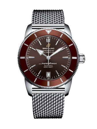 Breitling Superocean Heritage II Automatic 42 Bronze Stainless Steel Men's Watch AB201033/Q617-154A