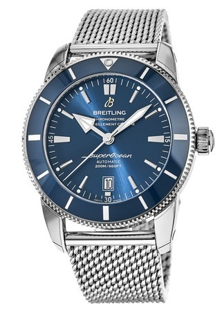 Breitling Superocean Heritage II 46 Blue Dial Stainless Steel Men's Watch AB202016/C961-152A
