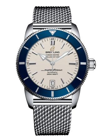 Breitling Superocean Heritage II Automatic 46 Silver Dial Stainless Steel Men's Watch AB202016/G828-152A