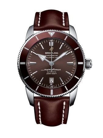 Breitling Superocean Heritage  Copperhead Bronze Dial Brown Leather Strap Men's Watch AB202033/Q618-443X