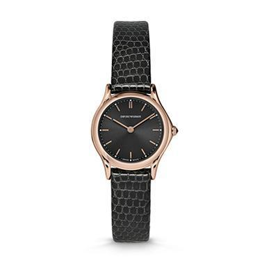 Emporio Armani Classic  Dark Grey Women's Watch ARS7201