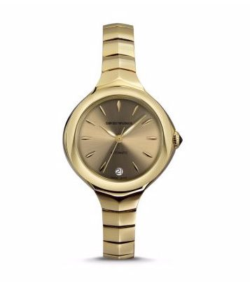 Emporio Armani Classic  Fluid Deco Light Gold Women's Watch ARS8205