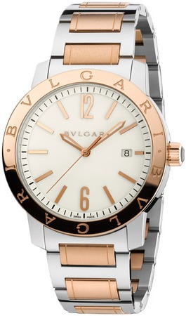 Bulgari   Automatic Off White Dial Men's Watch BB41WSPGD