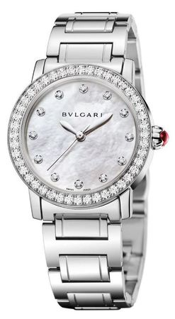 Bulgari   Mother of Pearl Automatic Women's Watch BBL33WSDS/12