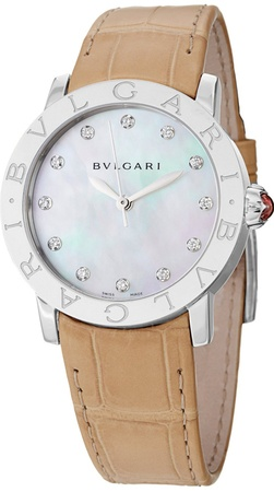Bulgari   Mother of Pearl Dial Women's Watch BBL33WSL/12
