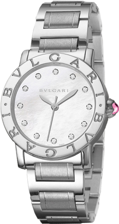 Bulgari   Mother of Pearl Diamond Dial Women's Watch BBL33WSS/12