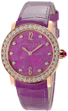 Bulgari   Automatic Hearts of Ruby Stone DIal Women's Watch BBLP33RGDL/10