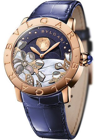 Bulgari   Blue Decorated Dial Women's Watch BBLP37CDGLMP