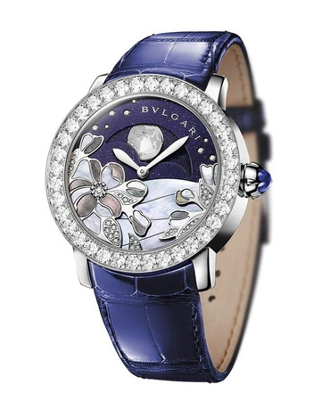 Bulgari   Blue Decorated Diamond Dial White Gold Women's Watch BBLW37CDGDLMP