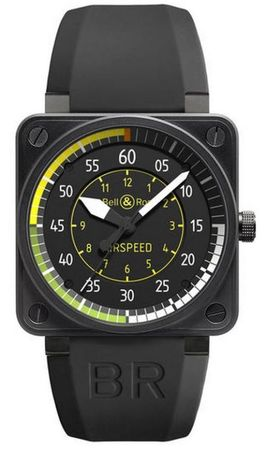 Bell & Ross Aviation  Automatic 46mm Men's Watch BR01-92 Airspeed