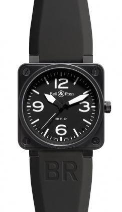 Bell & Ross Aviation  Automatic 46mm Men's Watch BR01-92-Carbon