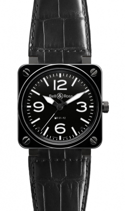Bell & Ross Aviation  Automatic 46mm Men's Watch BR01-92-Ceramic