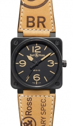 Bell & Ross Aviation  Automatic 46mm Men's Watch BR01-92-Heritage