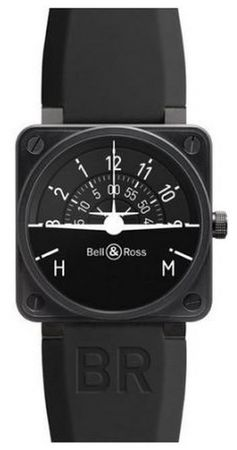 Bell & Ross Aviation  BR 01 Turn Coordinator Men's Watch BR0192-TURNCOOR
