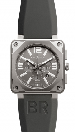 Bell & Ross Aviation  Chronograph 46mm Men's Watch BR01-94-Pro-Titanium