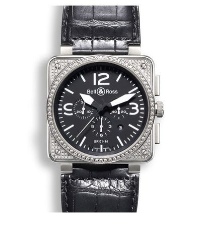 Bell & Ross Aviation   Men's Watch BR0194-TOPDIAM