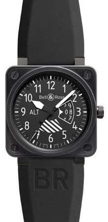 Bell & Ross Aviation  BR 01 Altimeter Men's Watch BR0196-ALTIMETER