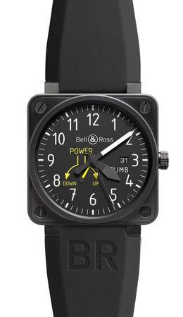 Bell & Ross Aviation  Power Reserve 46mm Men's Watch BR01-97 Climb