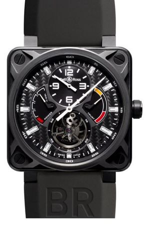 Bell & Ross Aviation  BR 01 Tourbillon Men's Watch BR01-TOURBILLON