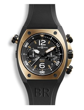 Bell & Ross Marine   Men's Watch BR02-CHR-BICOLOR