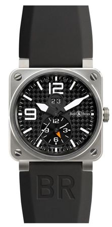 Bell & Ross Aviation  GMT 42mm Men's Watch BR03-51-Gmt
