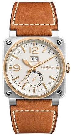 Bell & Ross Aviation   Men's Watch BR0390-BICOLOR