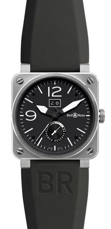 Bell & Ross Aviation  Big Date Power Reserve Men's Watch BR03-90 Big Date Power Reserve