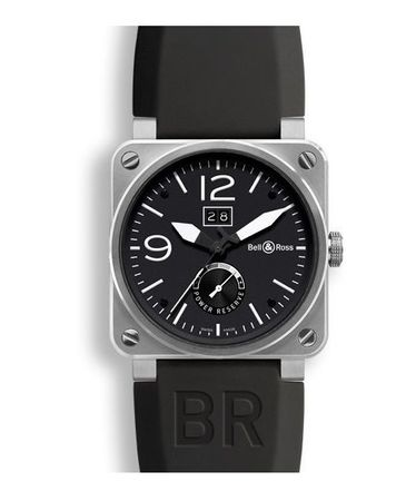 Bell & Ross Aviation   Men's Watch BR0390-BL-ST