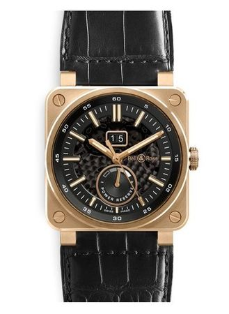 Bell & Ross Aviation   Men's Watch BR0390-PINKGOLD
