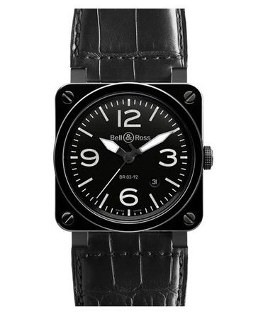 Bell & Ross Aviation   Men's Watch BR0392-CER-BLP/SCR