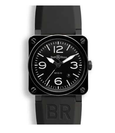 Bell & Ross Aviation   Men's Watch BR0392-CER-BLP/SRB