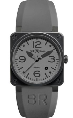 Bell & Ross Aviation   Men's Watch BR0392-COMMANDO-CE