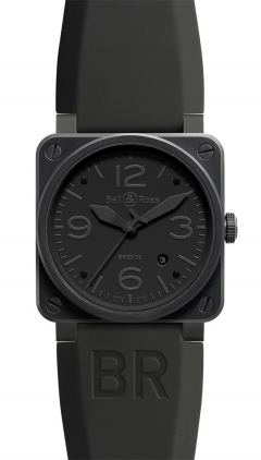 Bell & Ross Aviation  Automatic 42mm Men's Watch BR03-92-Phantom