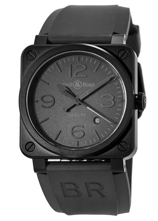 Bell & Ross Aviation   Men's Watch BR0392-PHANTOM-CE