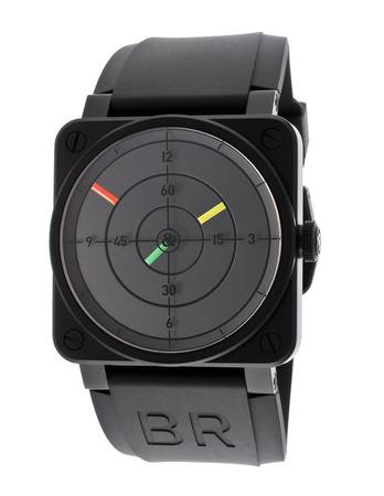 Bell & Ross Aviation  Radar Black Dial Men's Watch BR0392-RADAR