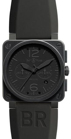 Bell & Ross Aviation  Chronograph 42mm Men's Watch BR03-94-Phantom