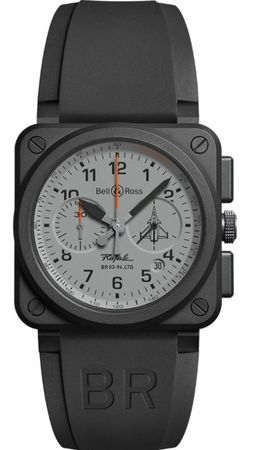 Bell & Ross Aviation  BR 03 RAFALE LIMITED EDITION Men's Watch BR0394-RAFALE-CE