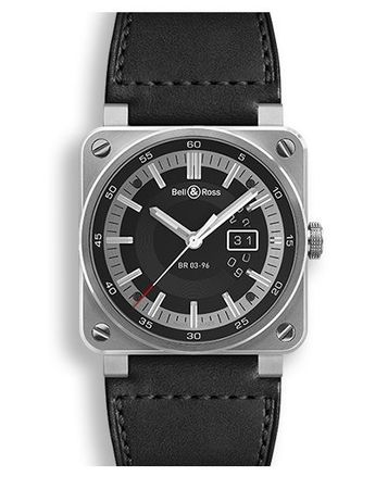 Bell & Ross Aviation   Men's Watch BR0396-SI-ST