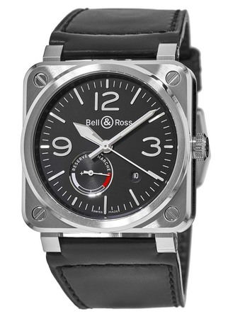 Bell & Ross Aviation  Power-Reserve Men's Watch BR03-97-Power-Reserve
