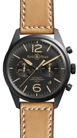Bell & Ross Vintage   Men's Watch BR-126 Heritage