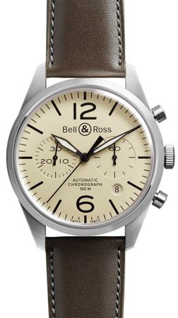 Bell & Ross Vintage   Men's Watch BR-126 Original Beige