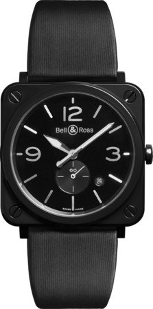 Bell & Ross Aviation   Men's Watch BRS-BL-CES/SSA