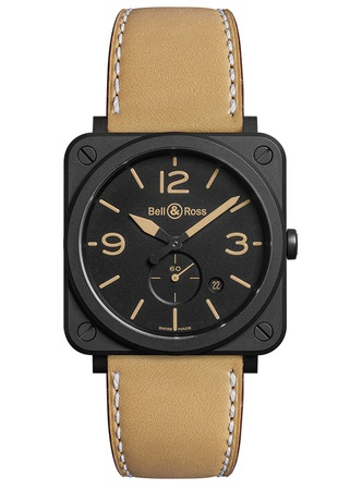 Bell & Ross Aviation   Men's Watch BRS-HERI-CEM