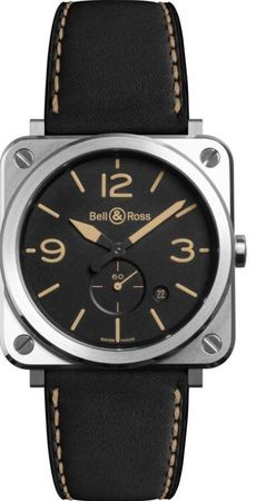 Bell & Ross Aviation   Men's Watch BRS-HERI-ST/SCA