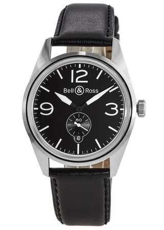 Bell & Ross Vintage  BR 123 Original Carbon Men's Watch BRV123-BL-CA/SCA