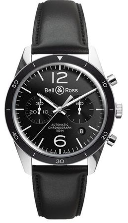 Bell & Ross Vintage  BR 126 Sport Men's Watch BRV126-BL-BE/SCA