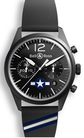 Bell & Ross Vintage  BRV126-BL-CA-CO/US Men's Watch BRV126-BL-CA-CO/US