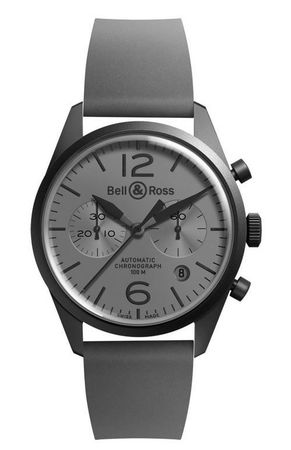 Bell & Ross Vintage  BR 126 Commando Men's Watch BRV126-COMMANDO